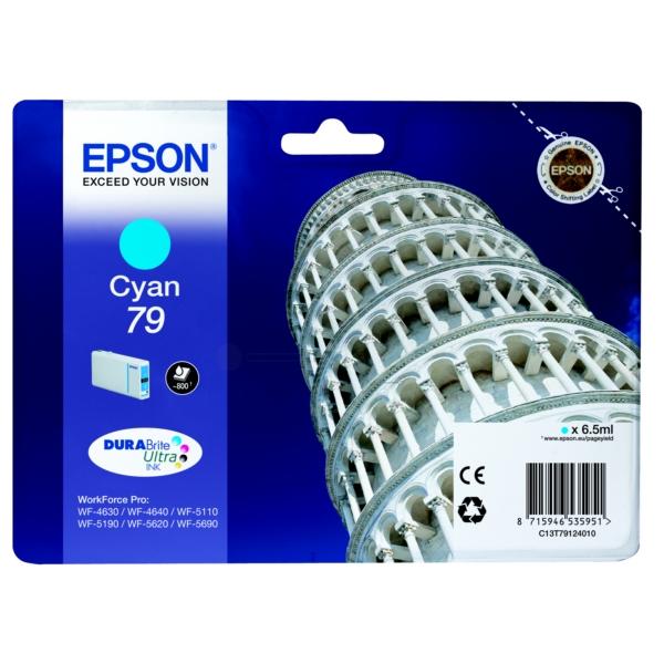 Original Epson C13T79124010 / 79 Tintenpatrone cyan