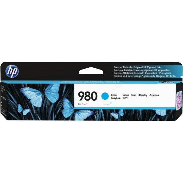 Original HP D8J07A / 980 Tintenpatrone cyan
