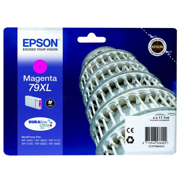 Original Epson C13T79034010 / 79XL Tintenpatrone magenta