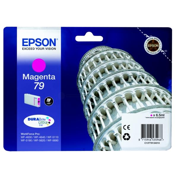Original Epson C13T79134010 / 79 Tintenpatrone magenta