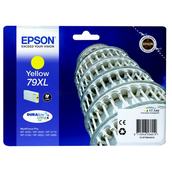 Original Epson C13T79044010 / 79XL Tintenpatrone gelb