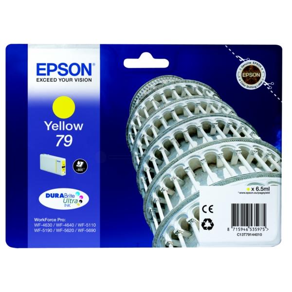 Original Epson C13T79144010 / 79 Tintenpatrone gelb