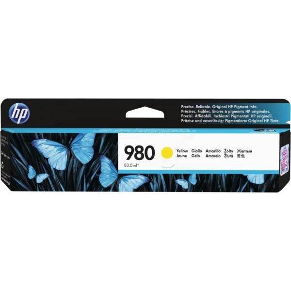 Original HP D8J09A / 980 Tintenpatrone gelb