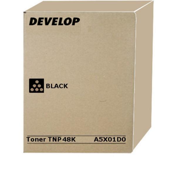 Original Develop A5X01D0 / TNP48K Toner schwarz