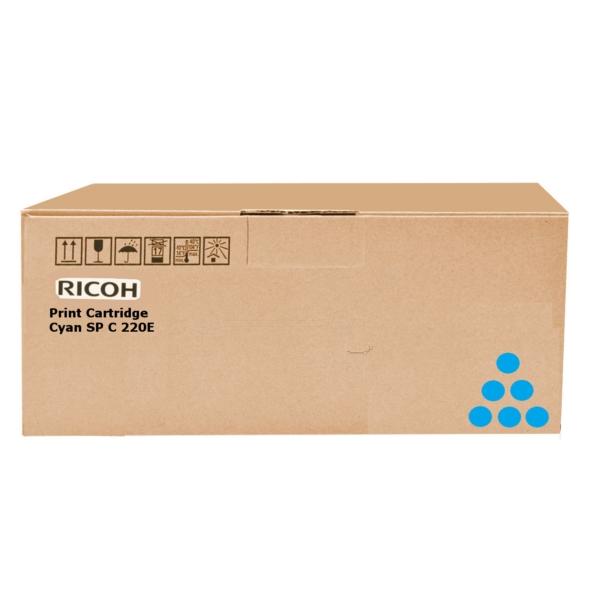 Original Ricoh 407544 Toner cyan