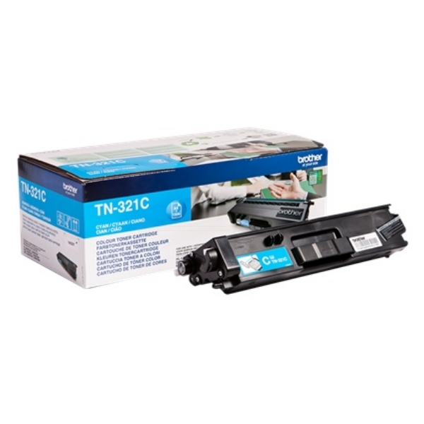 Original Brother TN321C Toner cyan