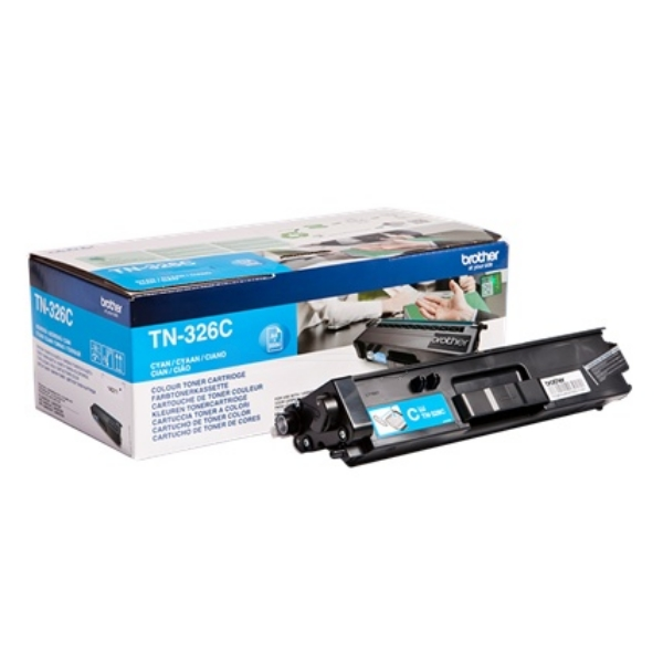 Original Brother TN326C Toner cyan