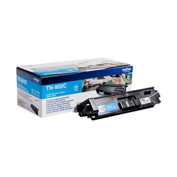 Original Brother TN900C Toner cyan
