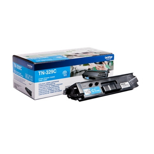 Original Brother TN329C Toner cyan
