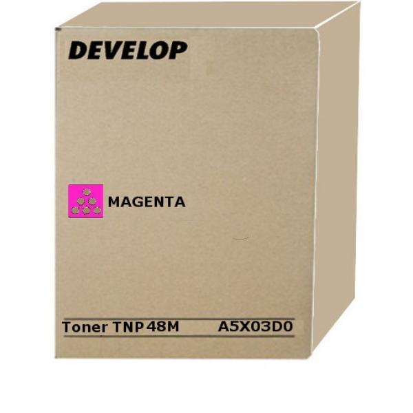 Original Develop A5X03D0 / TNP48M Toner magenta