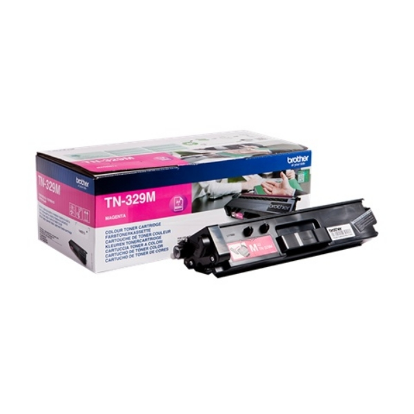Original Brother TN329M Toner magenta