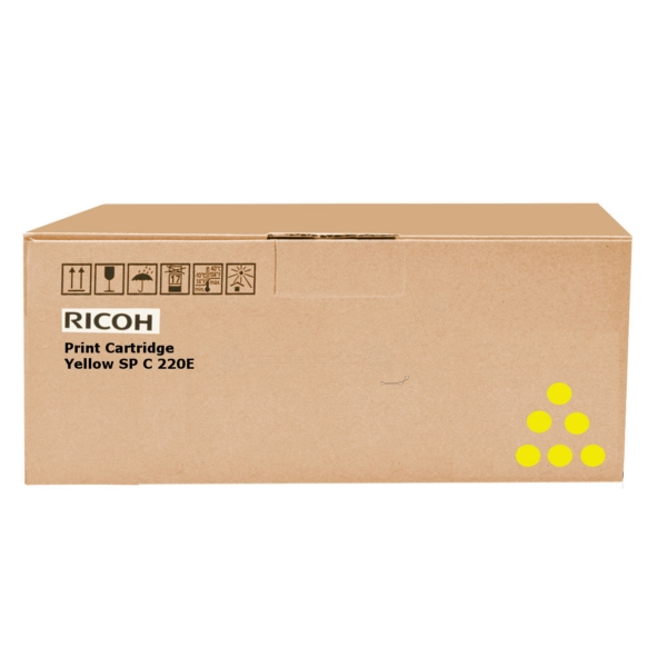 Original Ricoh 407546 Toner gelb