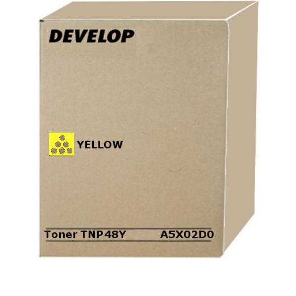 Original Develop A5X02D0 / TNP48Y Toner gelb