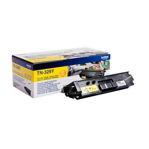 Original Brother TN329Y Toner gelb