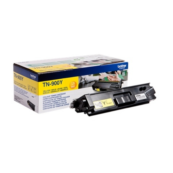 Original Brother TN900Y Toner gelb