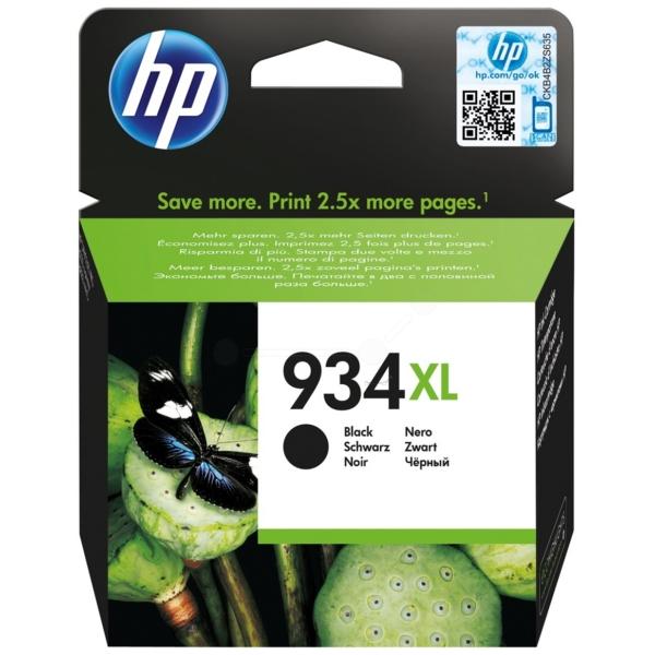 Original HP C2P23AE#301 / 934XL Cartouche d'encre noire