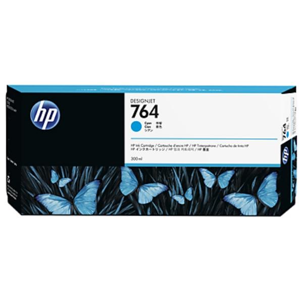 Original HP C1Q13A / 764 Tintenpatrone cyan