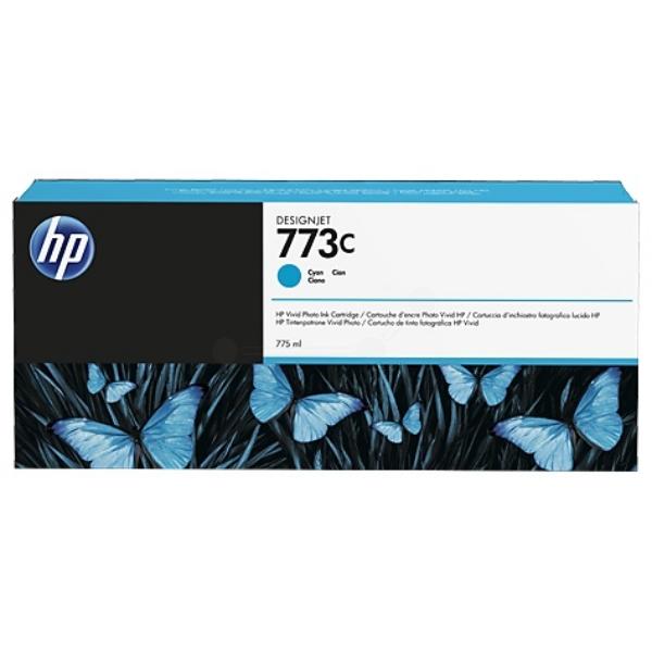 Original HP C1Q42A / 773C Tintenpatrone cyan