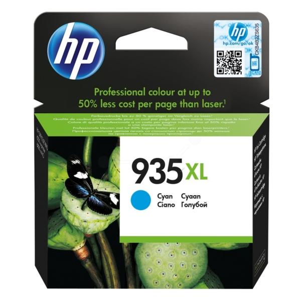 Original HP C2P24AE#301 / 935XL Cartouche d'encre cyan