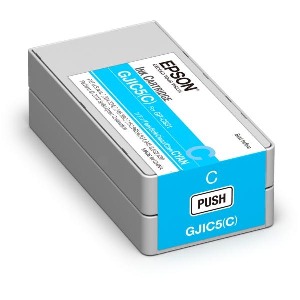 Original Epson C13S020564 / GJIC5(C) Tintenpatrone cyan