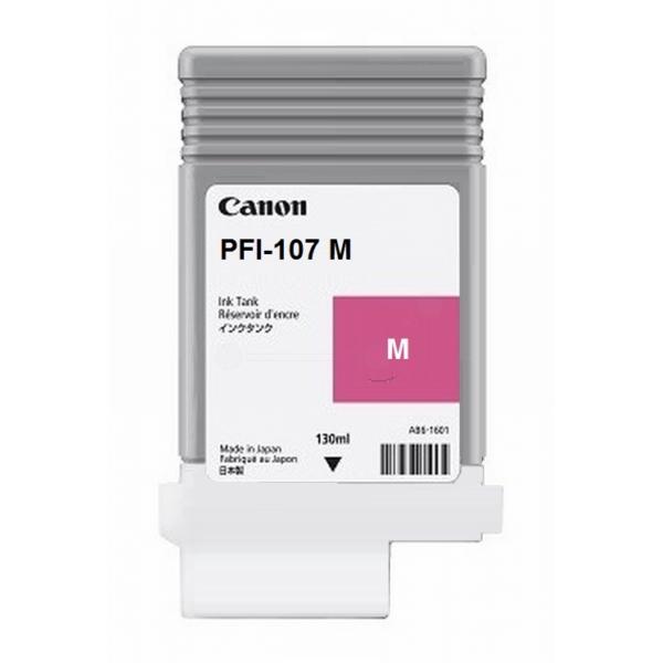 Original Canon 6707B001 / PFI107M Tintenpatrone magenta