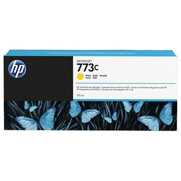 Original HP C1Q40A / 773C Tintenpatrone gelb