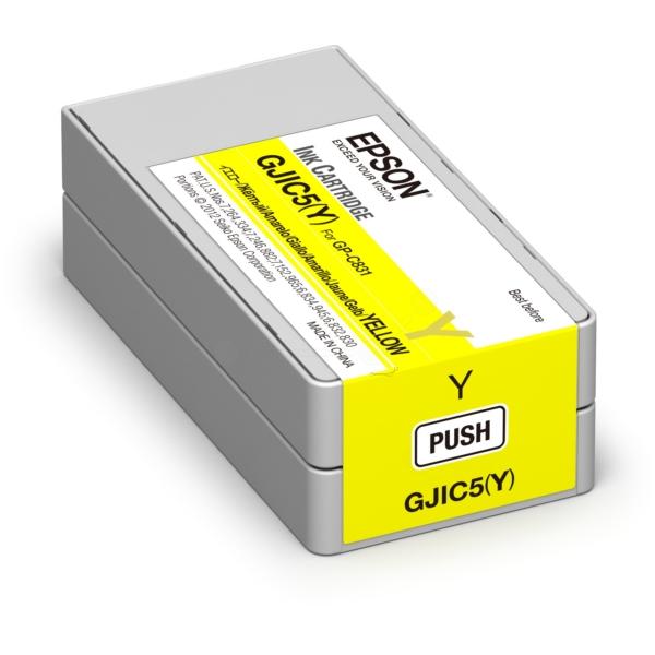Original Epson C13S020566 / GJIC5(Y) Tintenpatrone gelb