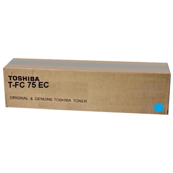 Original Toshiba 6AK00000251 / TFC75EC Toner cyan
