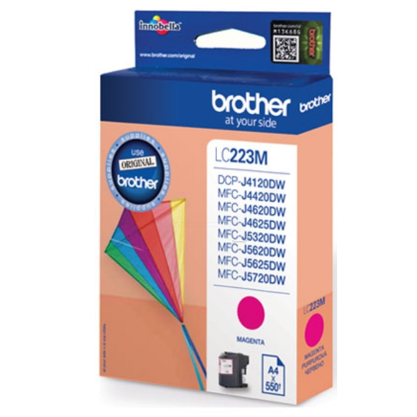Original Brother LC223M Tintenpatrone magenta