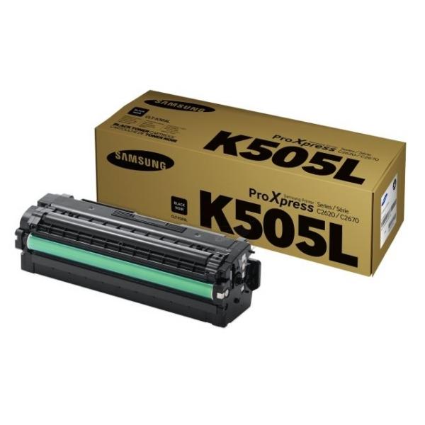 Original Samsung CLTK505LELS / K505L Toner schwarz