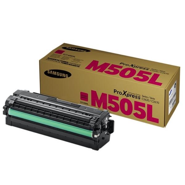 Original Samsung CLTM505LELS / M505L Toner magenta