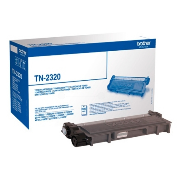 Original Brother TN2320 Toner schwarz