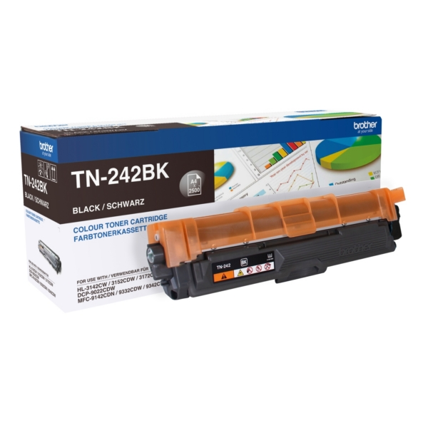 Original Brother TN242BK Toner schwarz