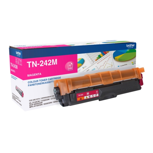 Original Brother TN242M Toner magenta