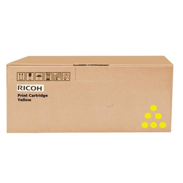 Original Ricoh 407719 Toner gelb
