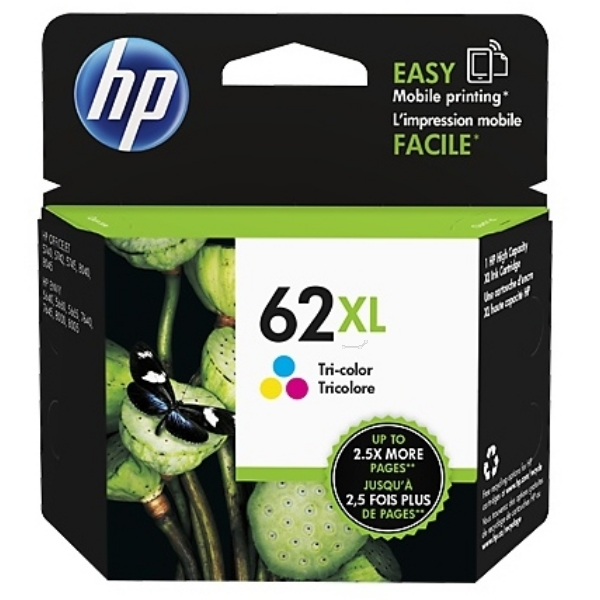 Original HP C2P07AE / 62XL Druckkopfpatrone color