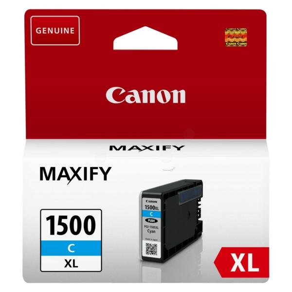 Original Canon 9193B001 / PGI1500XLC Tintenpatrone cyan