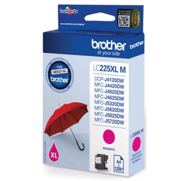 Original Brother LC225XLMBP Tintenpatrone magenta