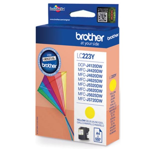 Original Brother LC223YBP Tintenpatrone gelb