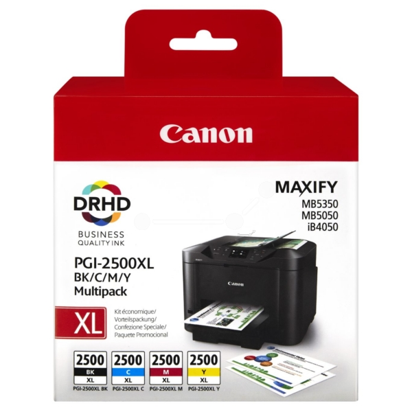 Original Canon 9254B004 / PGI2500XLBKCMY Tintenpatrone MultiPack