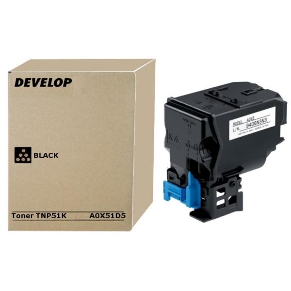 Original Develop A0X51D5 / TNP51K Toner schwarz