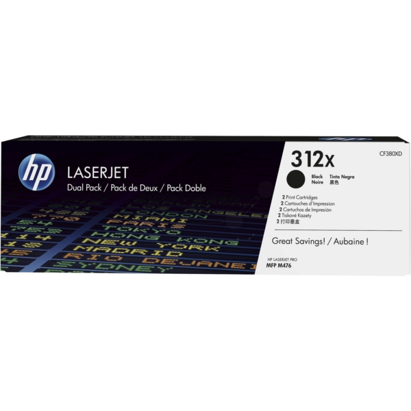 Original HP CF380XD / 312XD Toner black