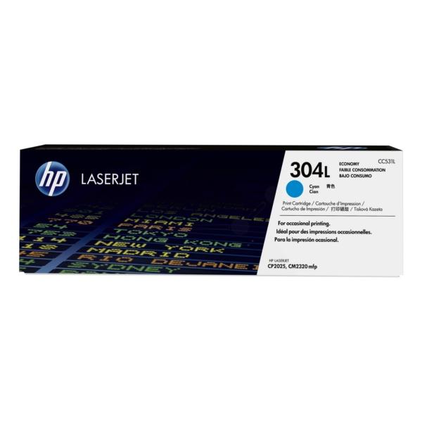 Original HP CC531L / 304L Toner cyan