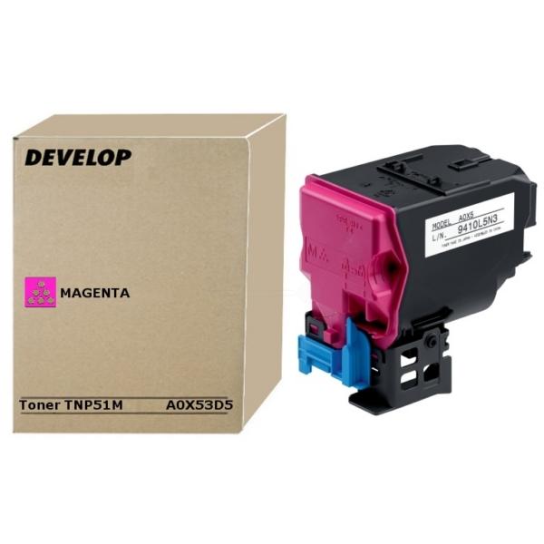 Original Develop A0X53D5 / TNP51M Toner magenta