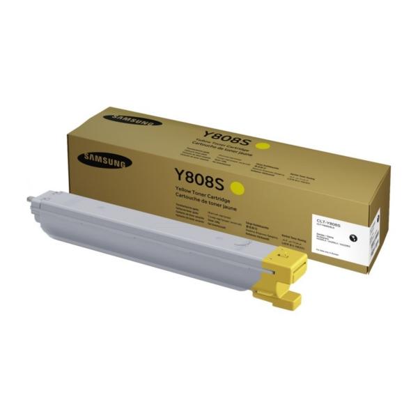 Original Samsung CLTY808SELS / Y808S Toner gelb