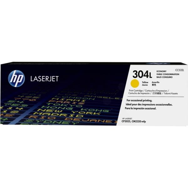 Original HP CC532L / 304L Toner gelb