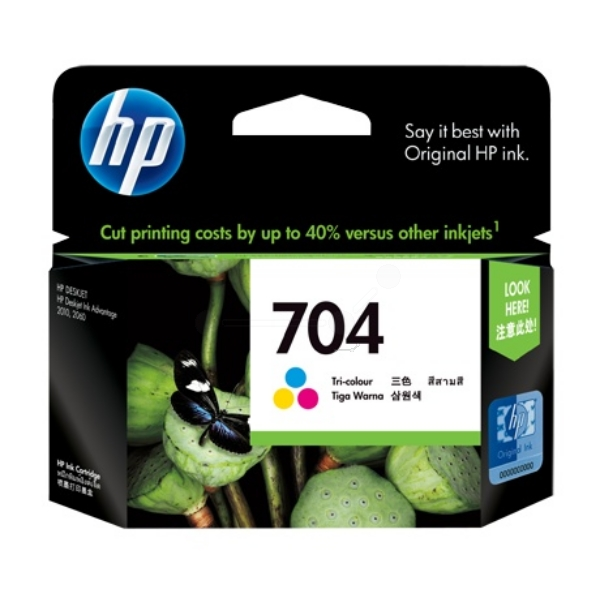 Original HP CN693AE / 704 Druckkopf color