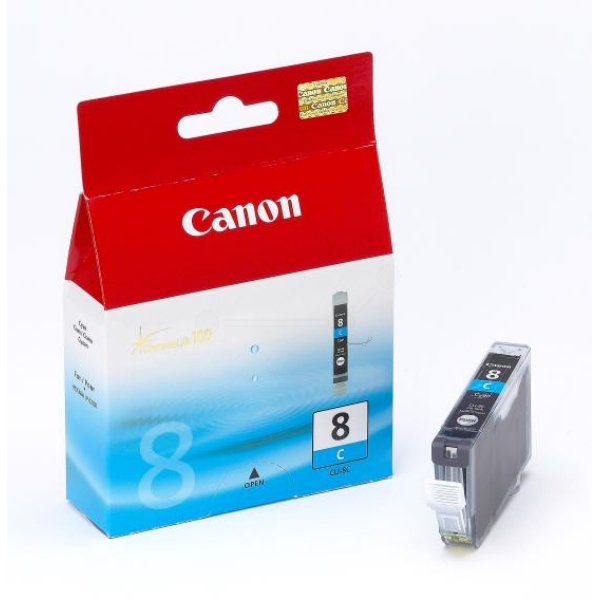 Original Canon 0621B028 / CLI8C Ink cartridge cyan