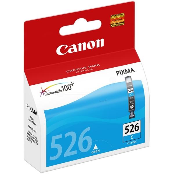 Oryginalny Canon 4541B010 / CLI526C Wklad atramentowy cyjan