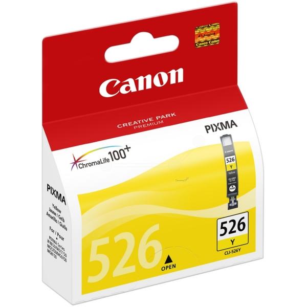 Original Canon 4543B006 / CLI526Y Cartouche d'encre jaune